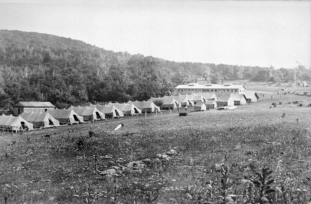 Civilian Conservation Corps Camp in Skyland