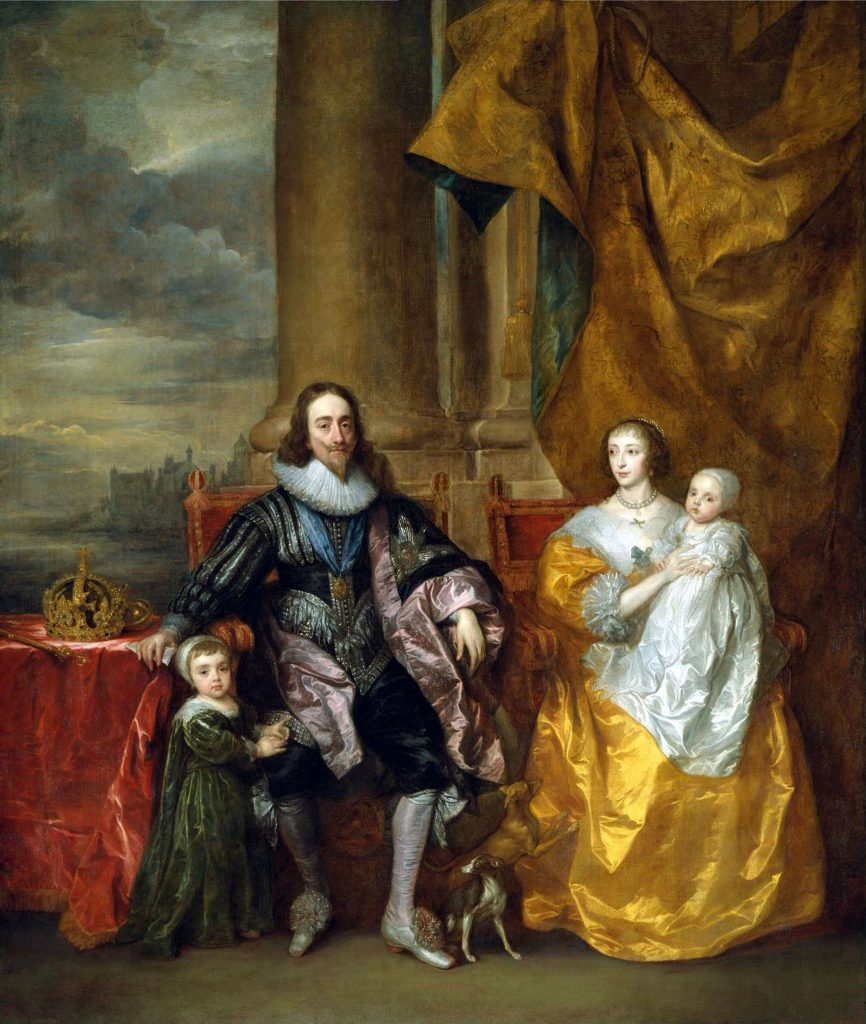 Charles I and Family