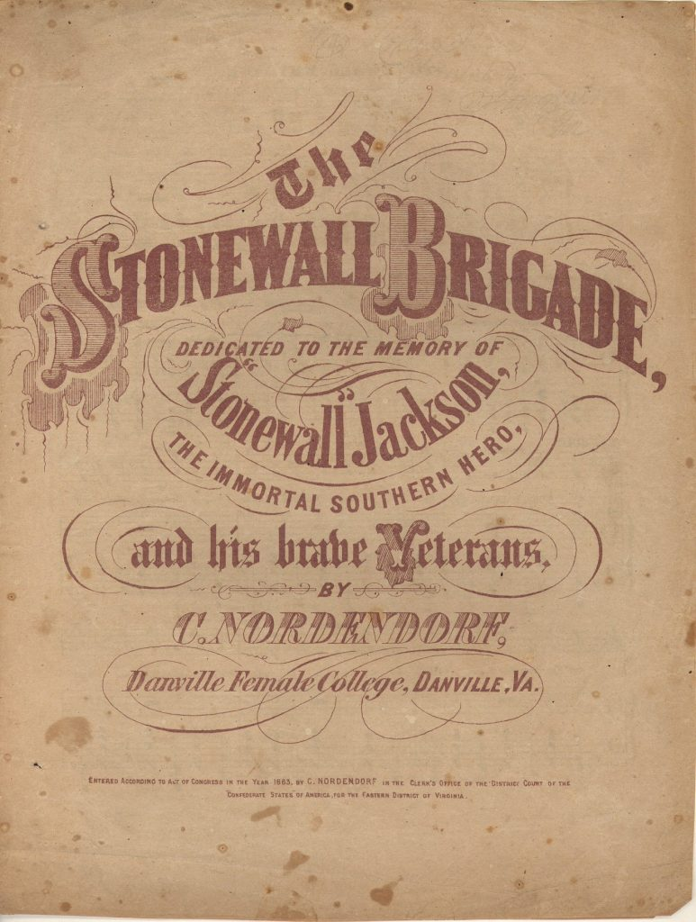 The Stonewall Brigade