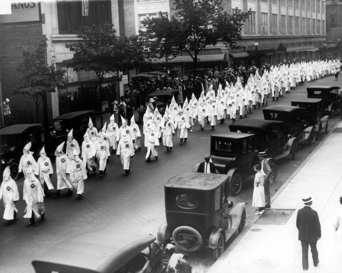 Ku Klux Klan Parade in Richmond