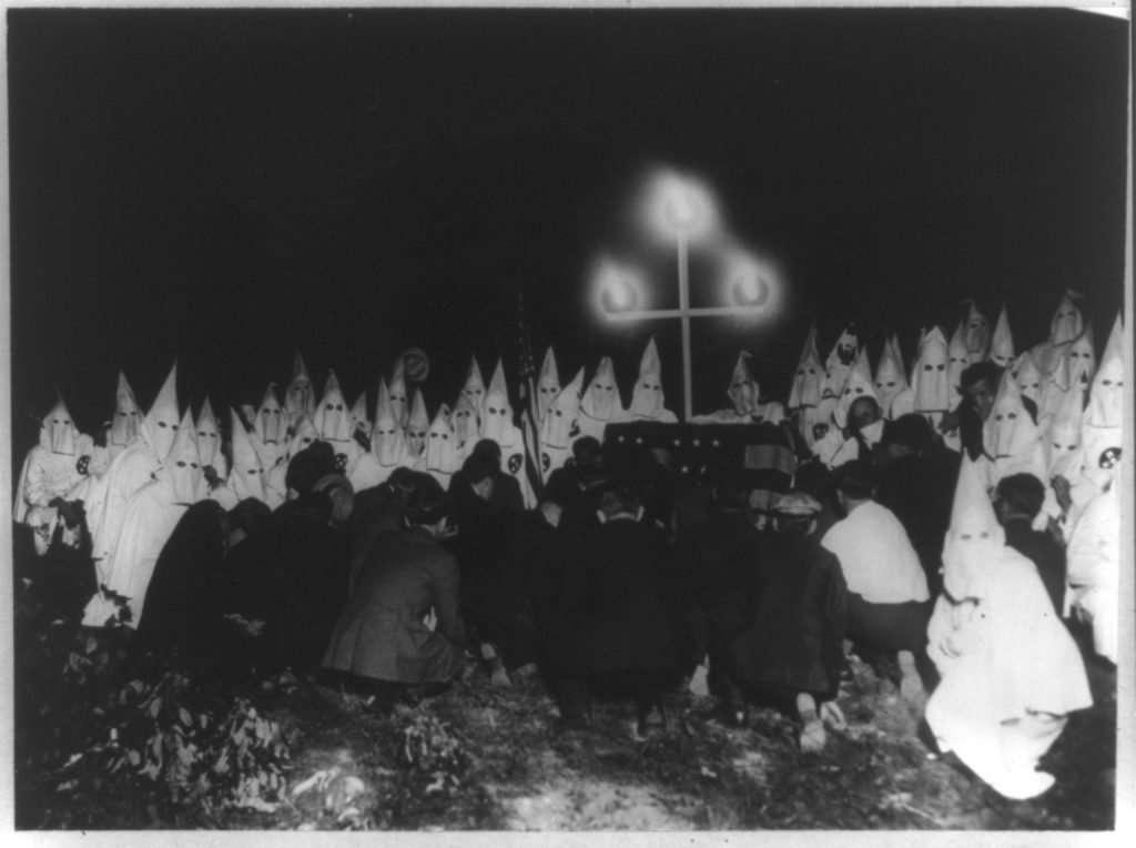 Ku Klux Klan in Washington