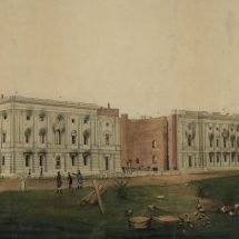 Ruins of the U.S. Capitol