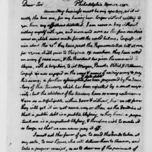 Letter from Thomas Jefferson to Nicholas Lewis (April 12