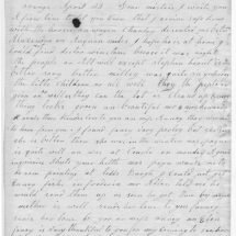 Paul Jennings's Letter to Dolley Madison