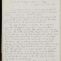 Letter from Ellen Wayles Randolph Coolidge to Joseph Coolidge (October 24
