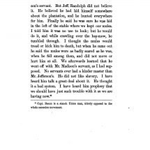Mr. Jefferson's Servants; an excerpt from The Private Life of Thomas Jefferson by Hamilton W. Pierson (1862)