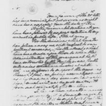 Letter from George Washington to John Langhorne (Peter Carr) (October 15