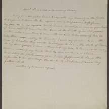 Will of Martha Jefferson Randolph