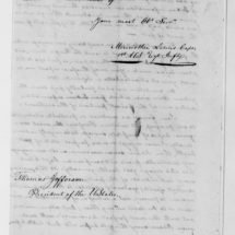 Meriwether Lewis's Report to Thomas Jefferson (April 7