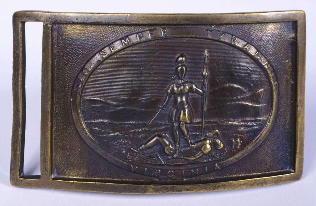 Confederate Belt Plate