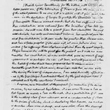 Letter from Thomas Jefferson to Baron Hyde de Neuville (December 13