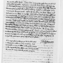 Letter from Thomas Jefferson to Dr. Vine Utley (March 21