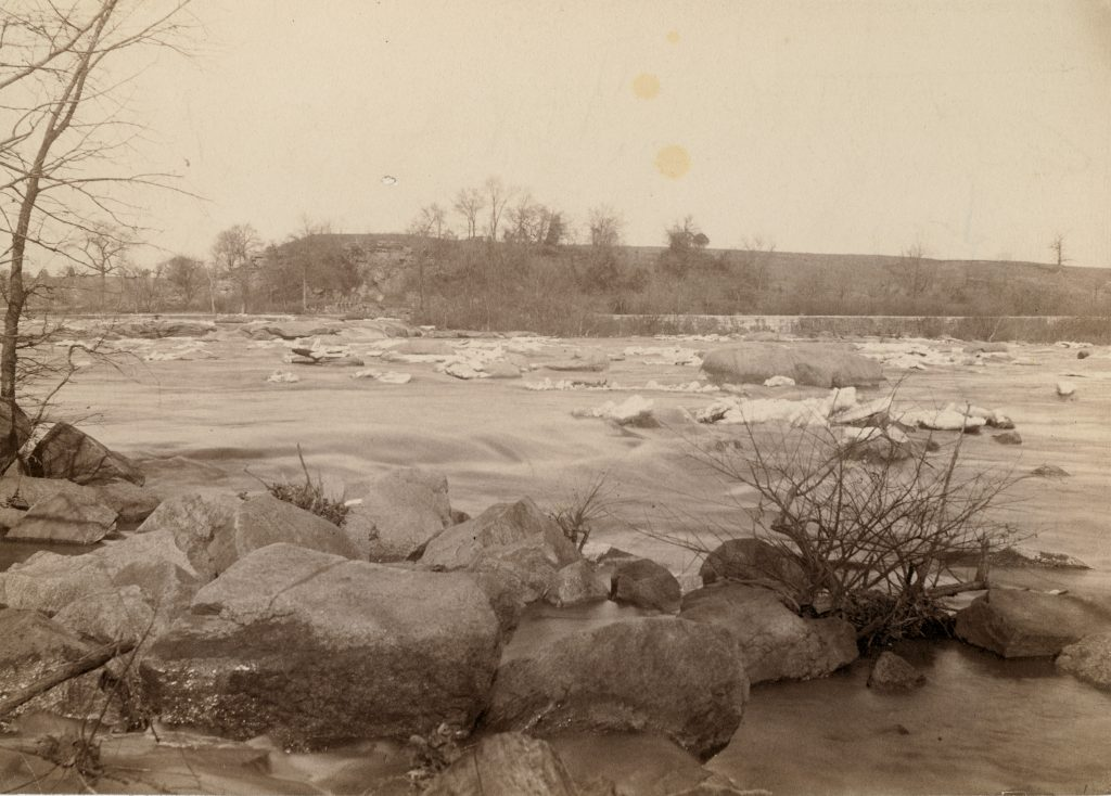 Belle Isle and the James River