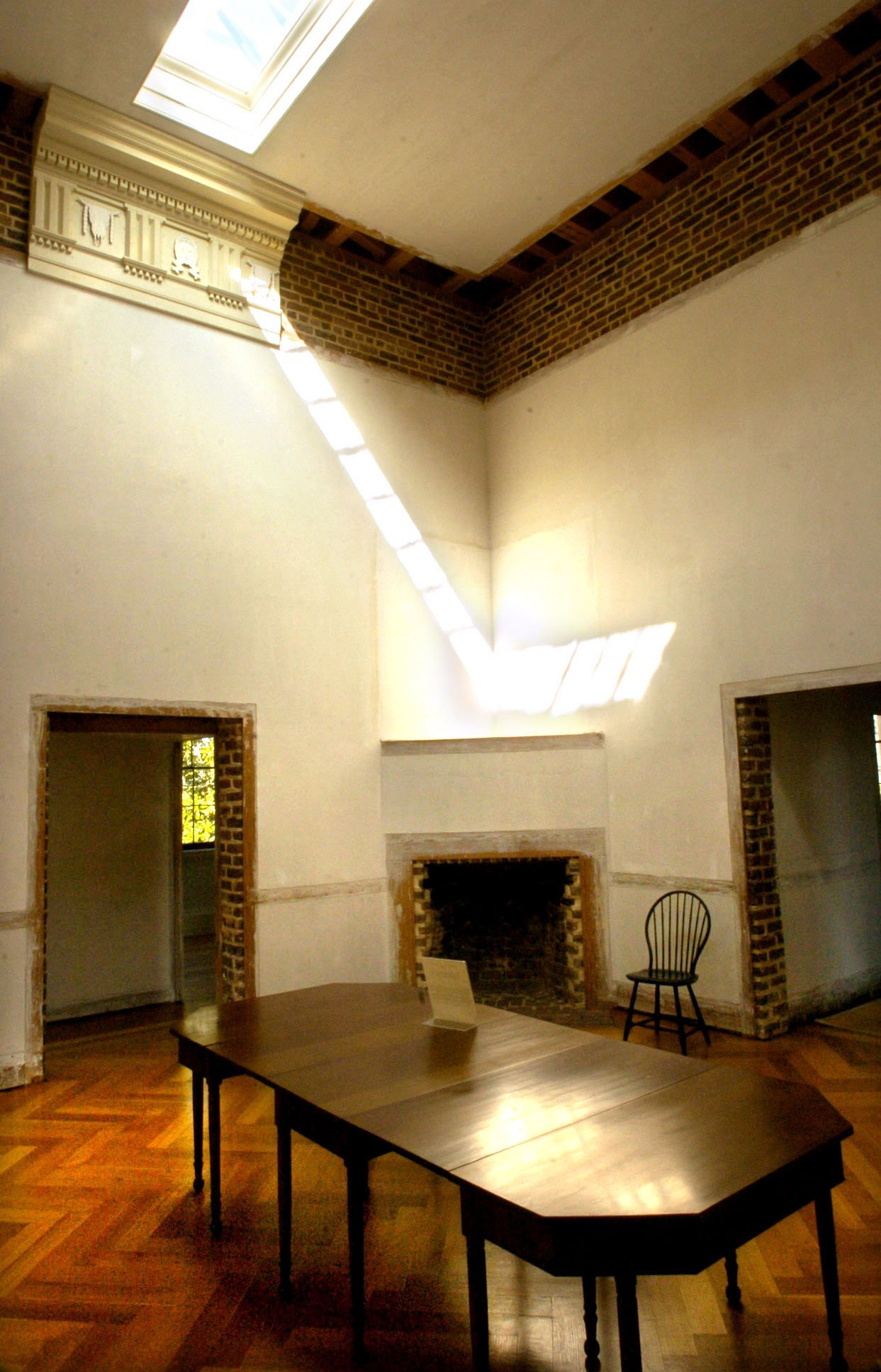 Central Dining Room with Skylight