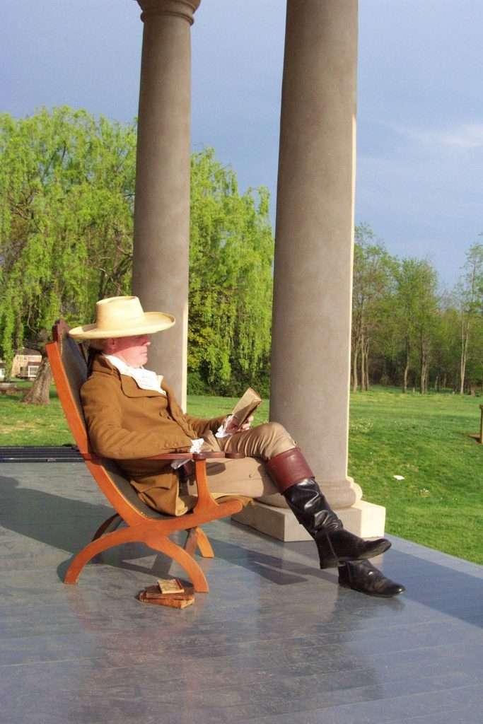 Jefferson Impersonator at Poplar Forest