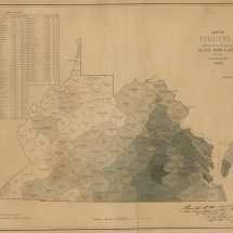 Enslaved Population in Virginia