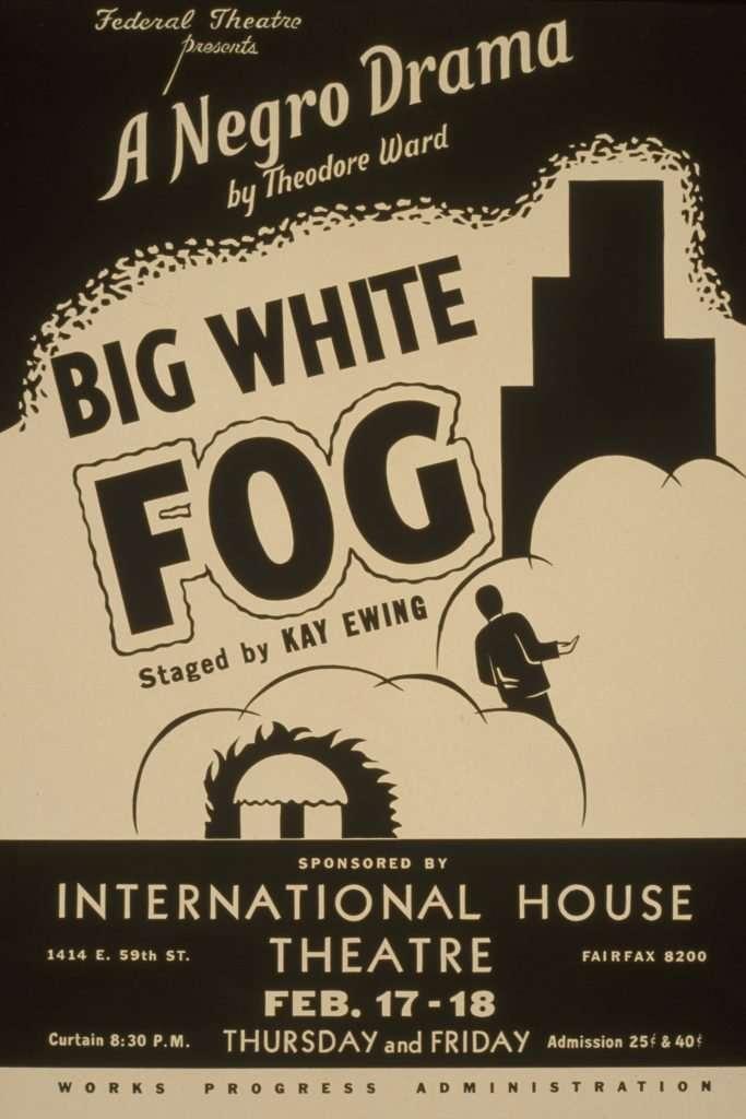 Poster Advertising Big White Fog