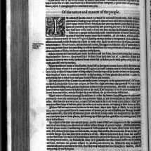 The Indians of Ossomocomuck; an excerpt from A briefe and true report of the new found land of Virginia by Thomas Hariot (1588)