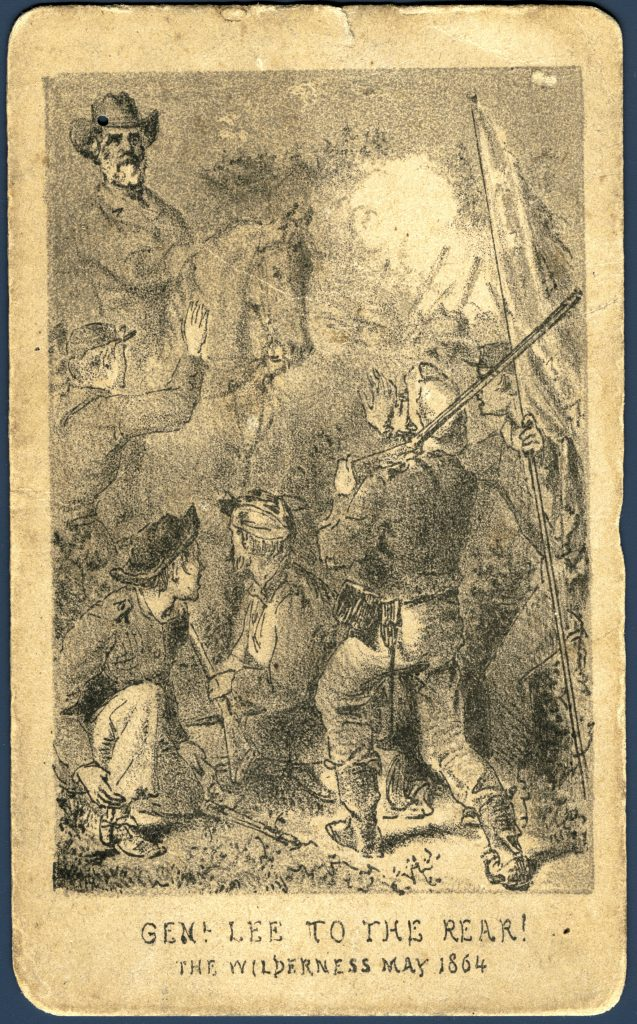 Genl. Lee to the Rear! The Wilderness May 1864