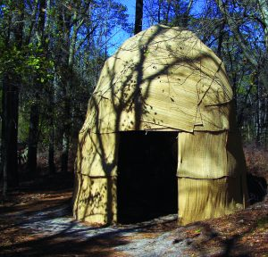 Houses in Early Virginia Indian Society