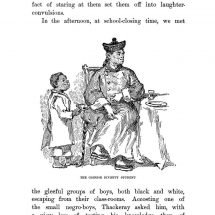 With Thackeray in America (1893)