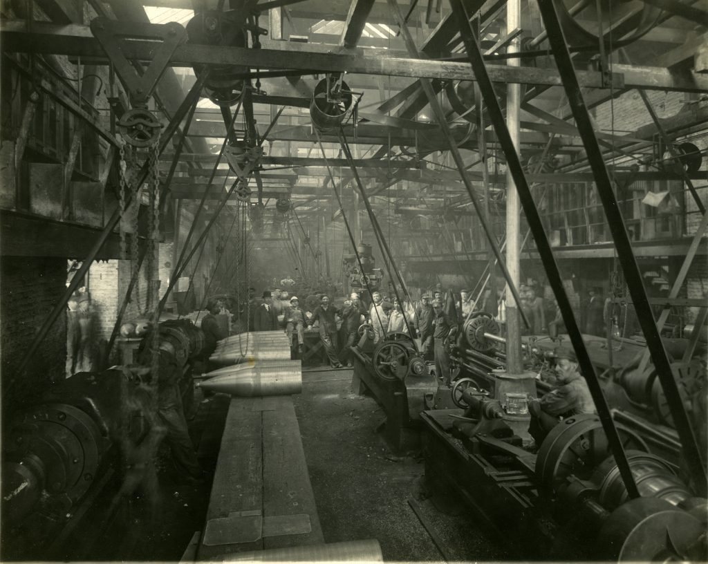 Tredegar Ironworks During World War I