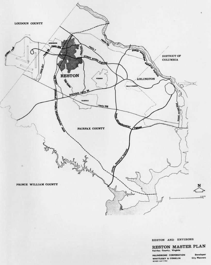 Reston Master Plan Maps