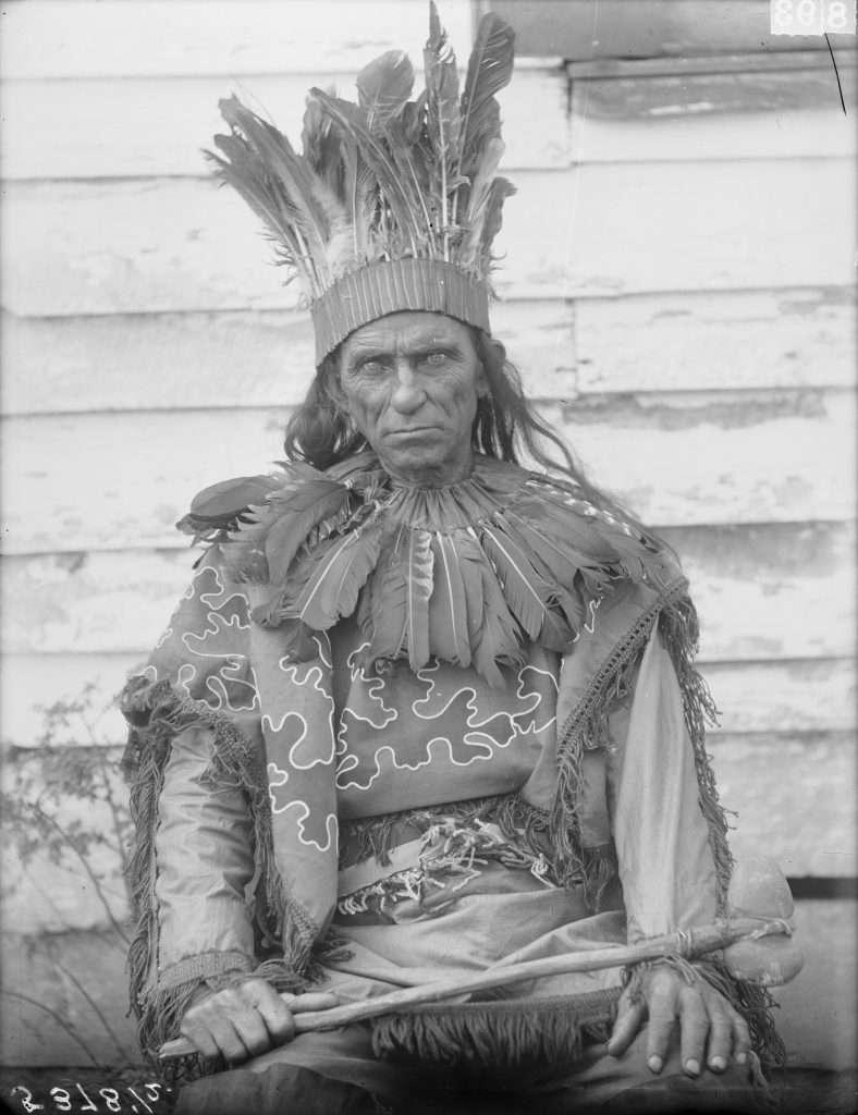 Pamunkey Man in Native Dress