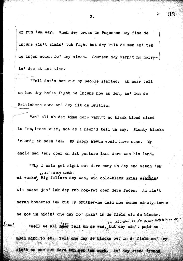 The story of 'Uncle' Moble Hopson (1936)