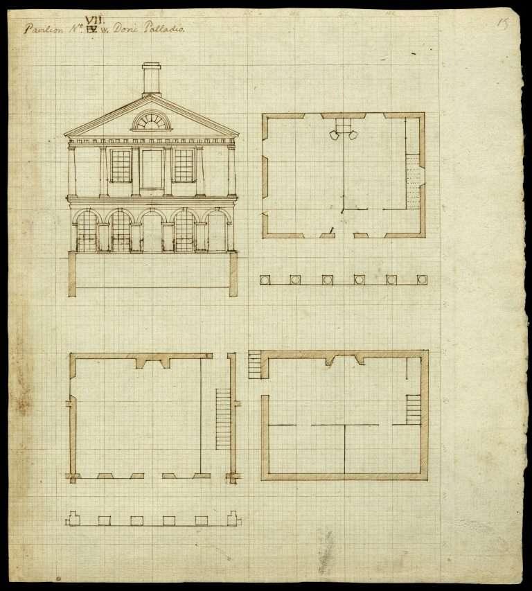 Pavilion No. VII W. Doric Palladio.