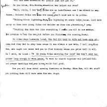 Interview of Mrs. Della Harris (1937)
