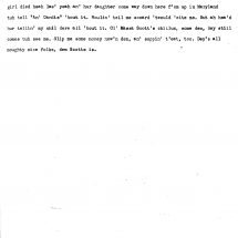 Interview of Mrs. Candis Goodwin (1937)
