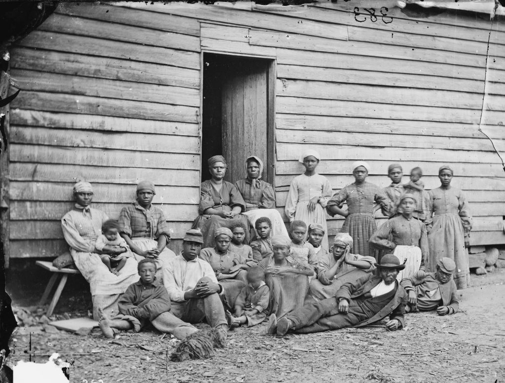 Self-Emancipated Blacks Behind Union Lines