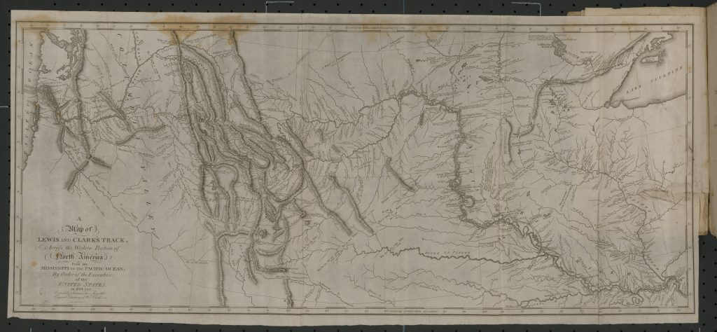 A Map of Lewis and Clark's Track …