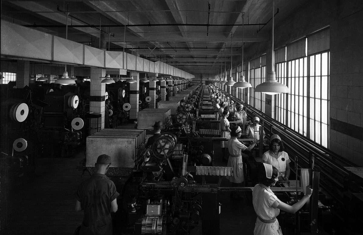 Women in a Cigarette Factory