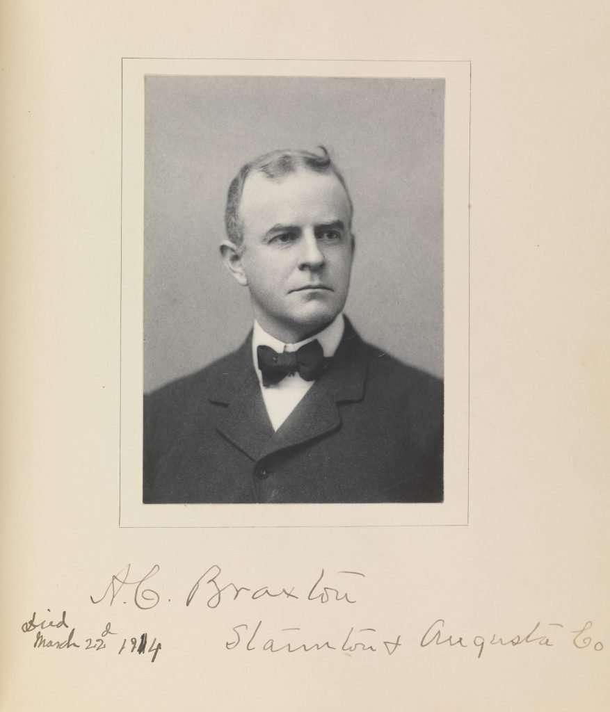 A. Caperton Braxton