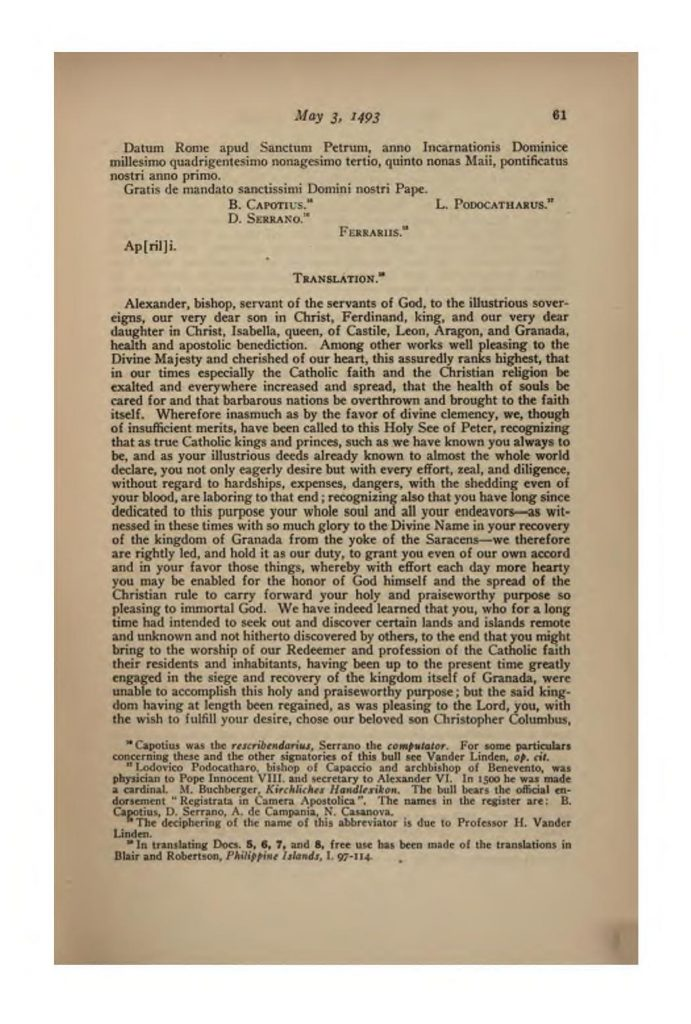 European Treaties bearing on the History of the United States and its Dependencies to 1648
