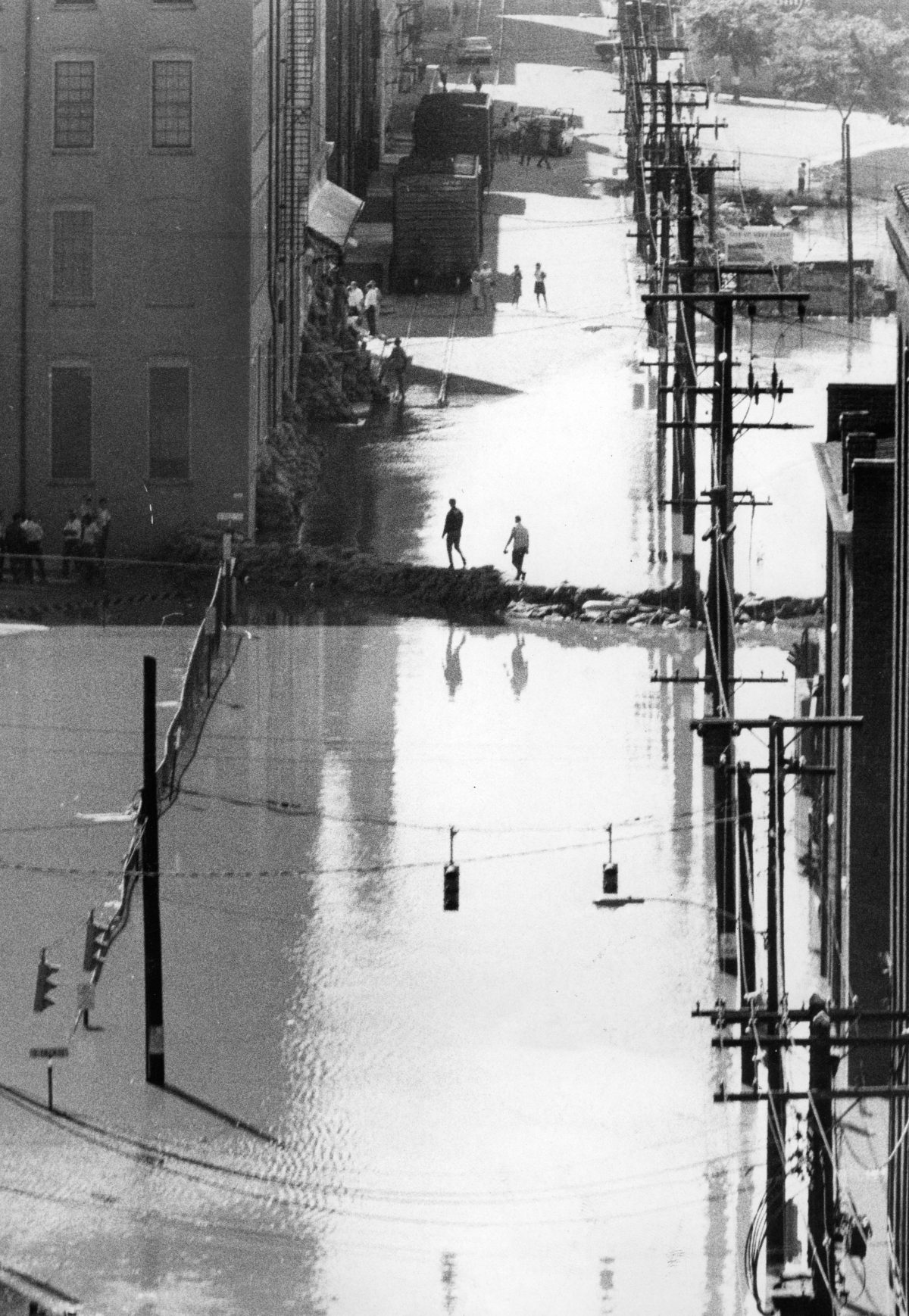 Hurricane Camille's Floodwaters in Richmond