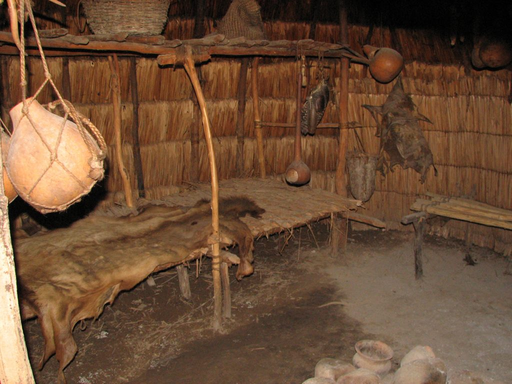 A Monacan Dwelling