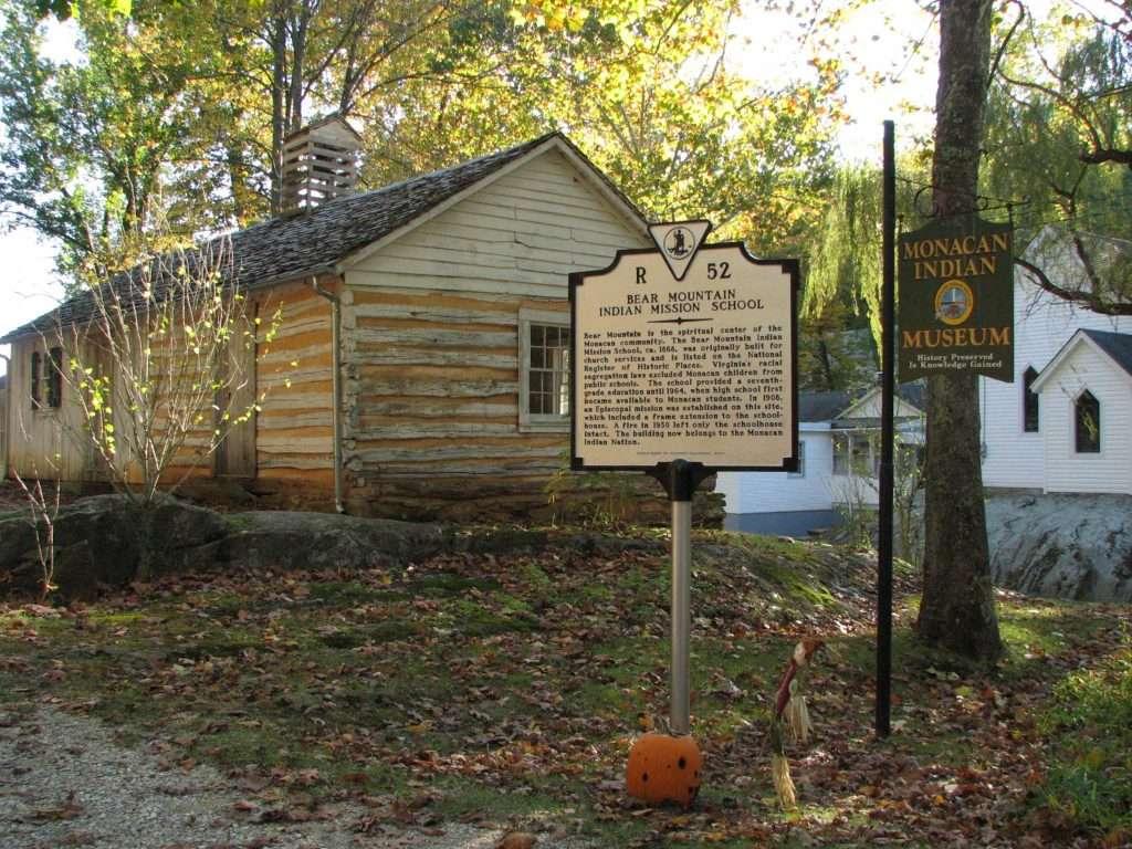 Site of Historic Monacan Indian School