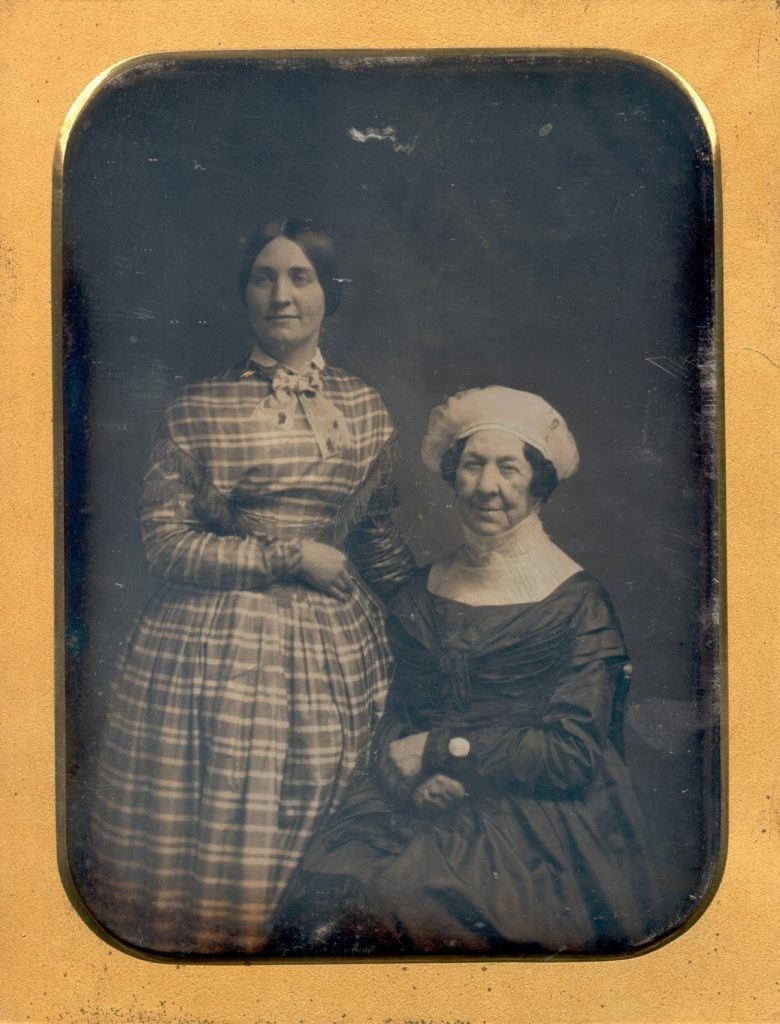 Dolley Madison and Her Niece Anna Payne