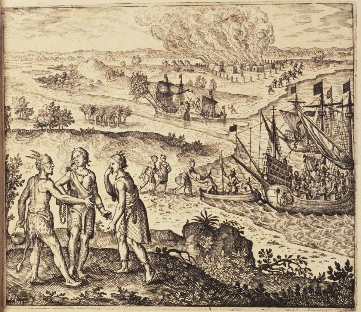 Abduction of Pocahontas