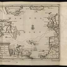 Map of Bartholomew Gosnold's 1602 Expedition