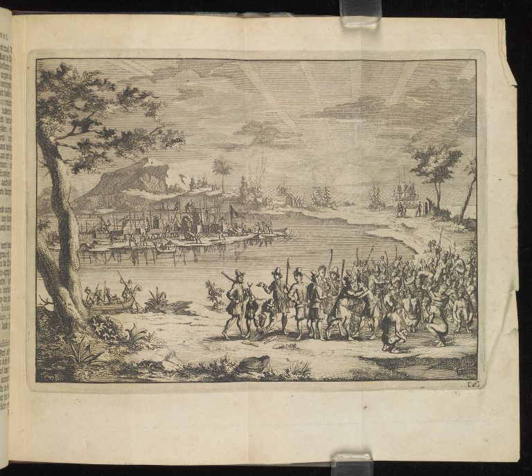 Captain Gosnold Encounters Indians in New England