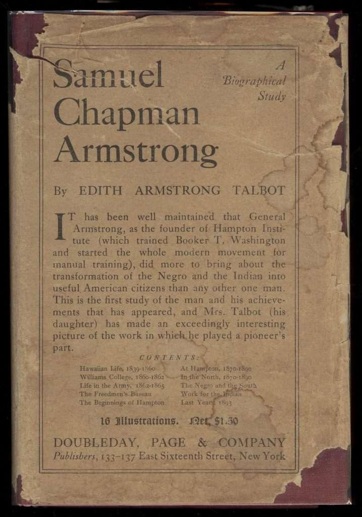 A Biography of Samuel Chapman Armstrong
