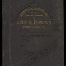 Memorial Addresses on the Life and Character of John S. Barbour