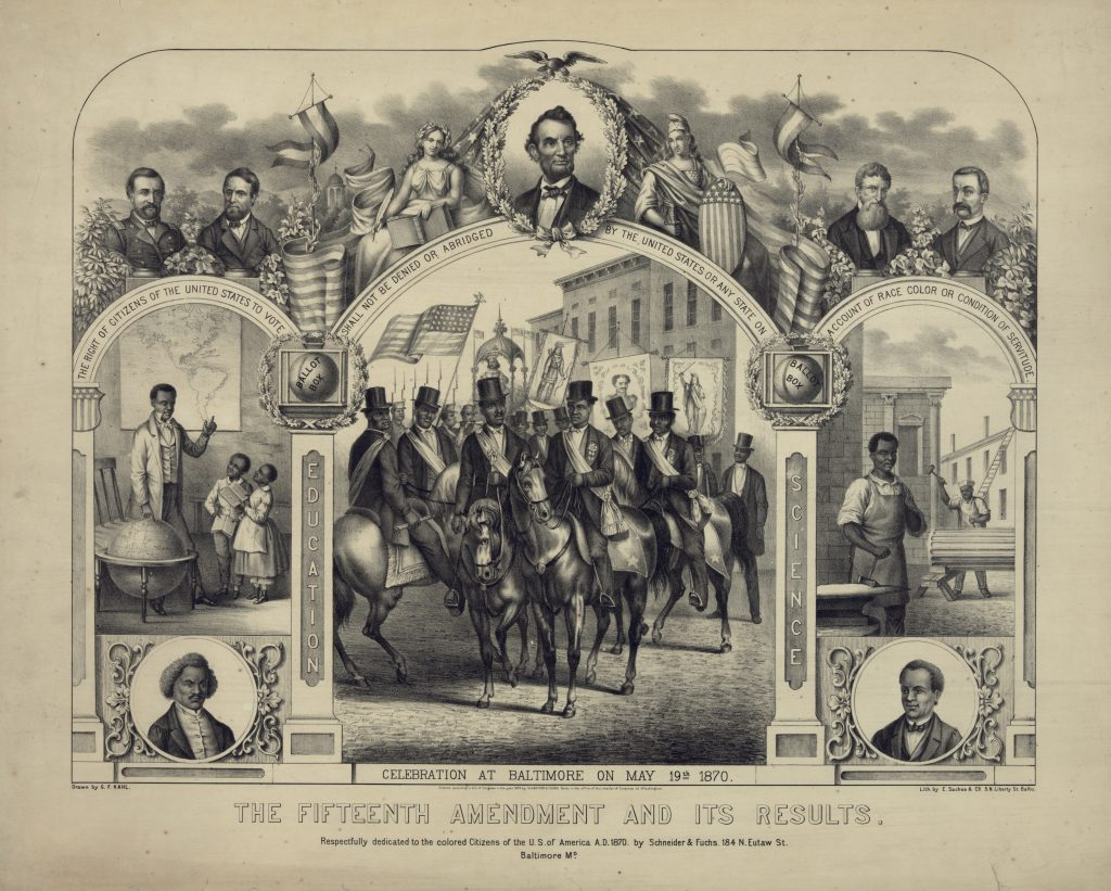 The Fifteenth Amendment And Its Results.