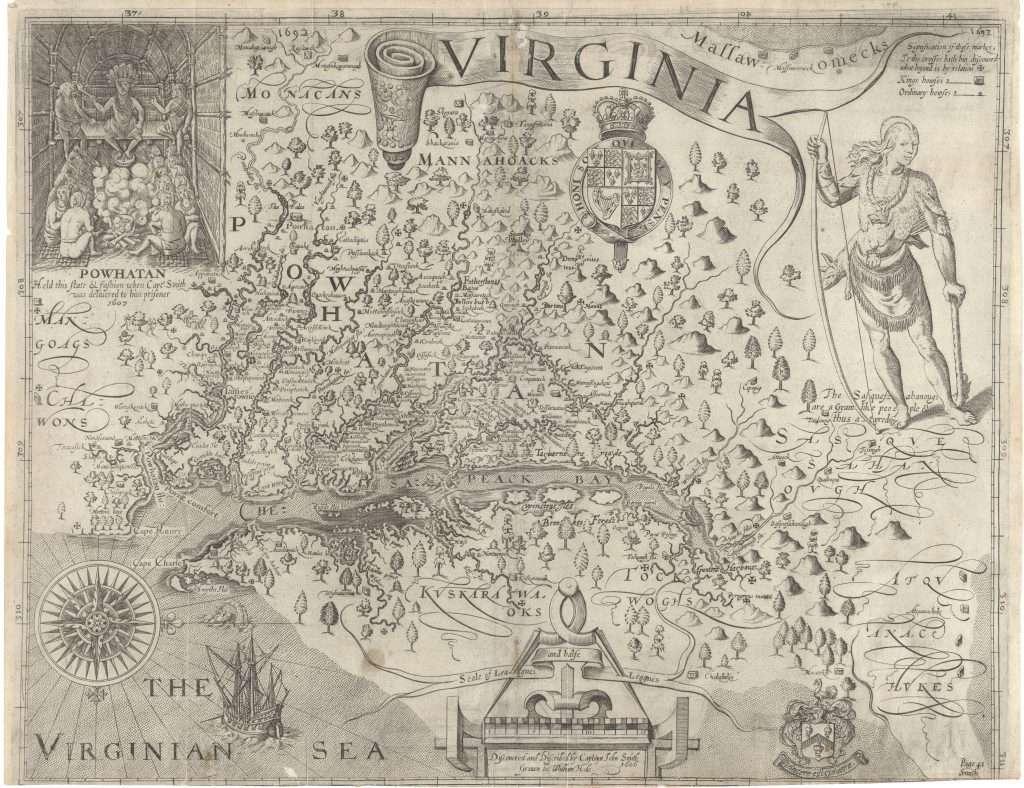John Smith Map