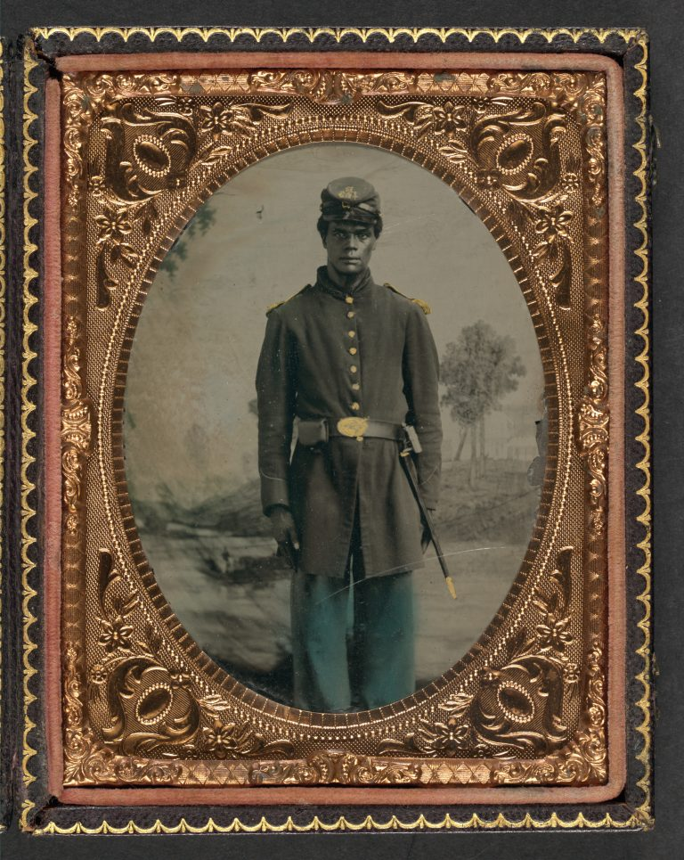 Unidentified African American Soldier