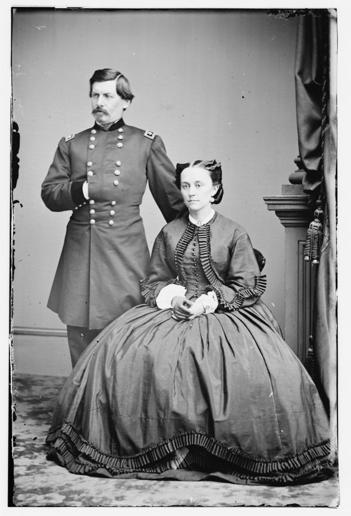 Major General George McClellan and his Wife
